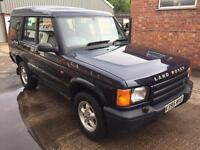 LAND ROVER DISCOVERY 2 TD5 LONG M.O.T NO SUNROOFS