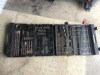 Drill bits case