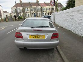 Citroen Xsara 1.4l petrol silver hatchback - low mileage, MOT til Sept, BARGAIN £250