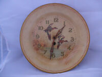 Smiths Plate Duck Wall Clock (Vintage, Birds, Ducks, Pond)