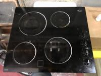 Whirlpool Electric Schott Glass Hob