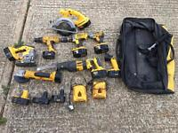 Dewalt cordless power tools set