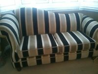 Instyle hand crafted Eleganza fabric two seater Sofa Excellent Condition as New