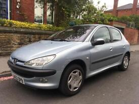 2003 Peugeot 206 1.4 Diesel £30 Road Tax Only 53,000 Miles Drives Perfect
