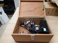 I have 8 GILLET & SIBERT Microscopes for sale . REGD. DESIGN No 900672. Further details below.