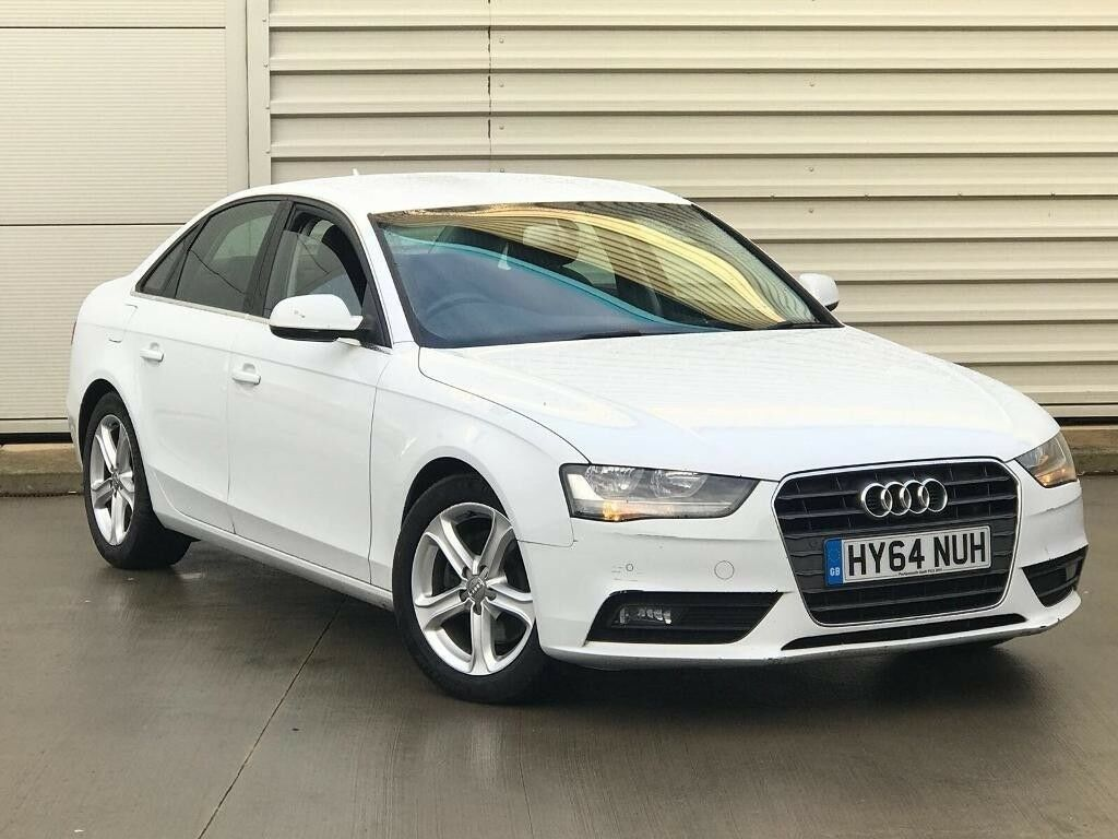 2014 64reg Audi A4 2.0 TDI e SE Technik 4dr white diesel**MEGA SPEC**WHITE**ONE OWNER not a6 a5