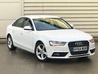 2014 64reg Audi A4 2.0 TDI e SE Technik 4dr white diesel**MEGA SPEC**WHITE**ONE OWNER not a6 a5