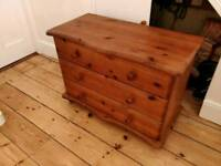 £45 pine chest of drawers farmhouse shabby chic project