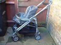 M & P buggy pushchair stroller pram