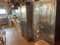 Industrial style freestanding kitchen units