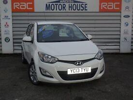 Hyundai i20 ACTIVE (£30.00 ROAD TAX) FREE MOT'S AS LONG AS YOU OWN THE CAR!!! (white) 2013