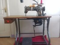 Industrial Singer Sewing Machind