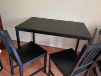 Ikea table + 2 chairs