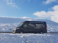 Man with a large van 4 man team removals from £15 Falkirk