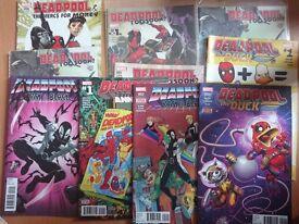 Lot Deadpool comics