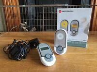 Motorola Digital Audio Baby Monitor