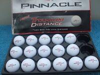 Box 16 Pinnacle Titanium Distance Golf Balls,