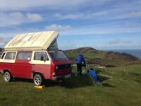 Beautiful T25 campervan Devon conversion with original interior. Just in time for summer!