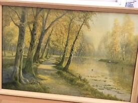Original signed d sherrin painting