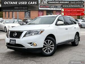 2013 Nissan Pathfinder SL Accident Free!Leather! 4x4!