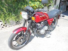1982 Kawasaki GT750. Lots of new parts. Runs well. Manuals and some spares