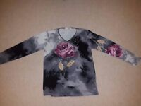 one free size women's shirt