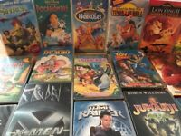 Videos - Disney & others. 20 total. Excellent condition.