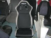 seat sparco adjustable