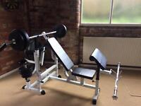 Gorilla Sports - Universal Weight Bench Workstation