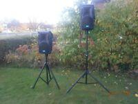 Pair of DB Technologies opera 201 lyric loudspeakers (DJ,PA System)