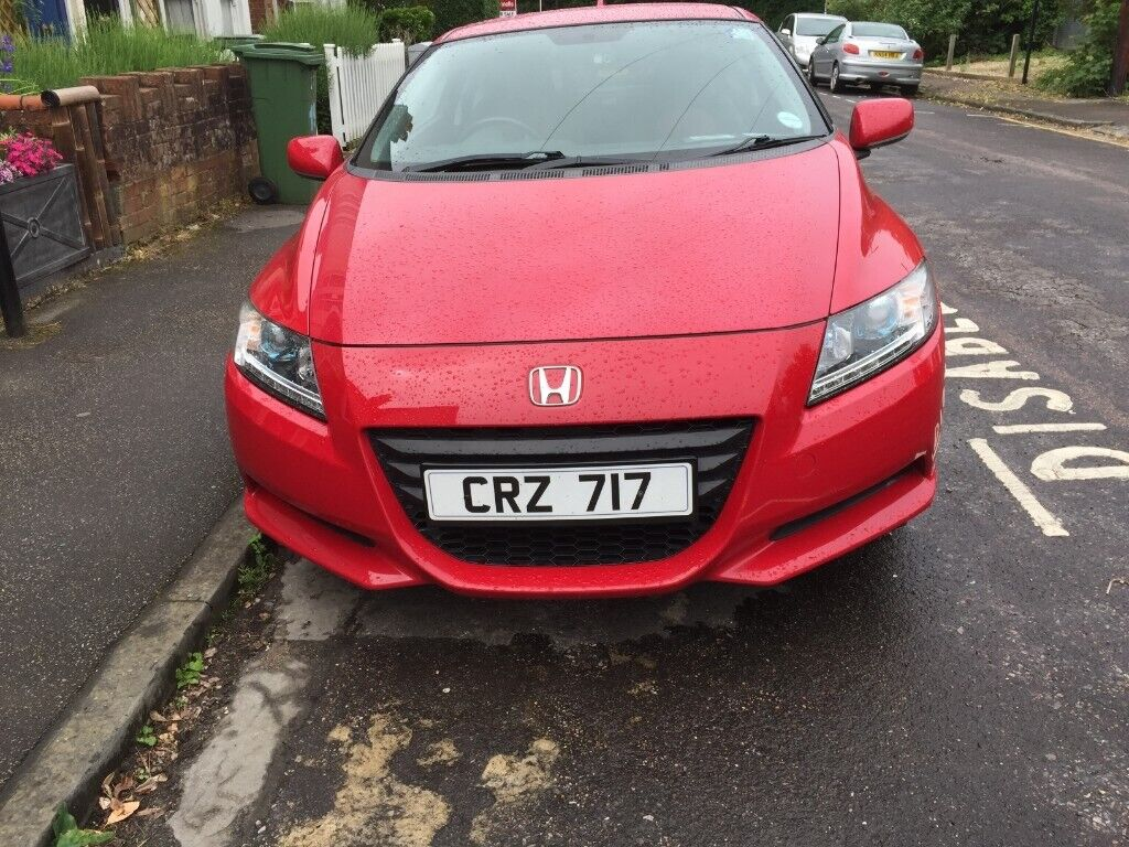 Honda Crz Hybrid Manual 6 Sd Gearbox3 Driving Modes Eco Normal Sport New Front Tyres