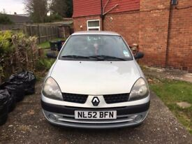 Renault clio for Sale £650