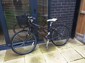 Hybrid victoria pendleton bicycle