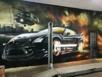 Mural artist/Graffiti Artist /airbrush artist