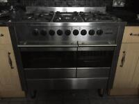 Duel gas/electric cooker