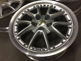 Volkswagen Caddy alloy wheels, split rims ATS, 5x112, rare Vw Mercedes Audi