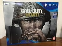 Sony PlayStation 4 500GB Call of Duty: WWII Bundle - Brand New