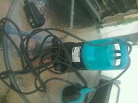 Submersible automatic dirty water pump
