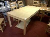 Extendable dining table only tcl 20626