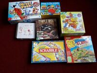 JUNIOR SCRABBLE, MOUSE TRAP, 3D SNAKES + LADDERS ,SCOOBY DOO ,PIGGY IN MIDDLE , BEAD MAT KIT
