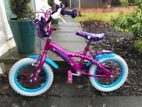 Great condition girls bike for sale