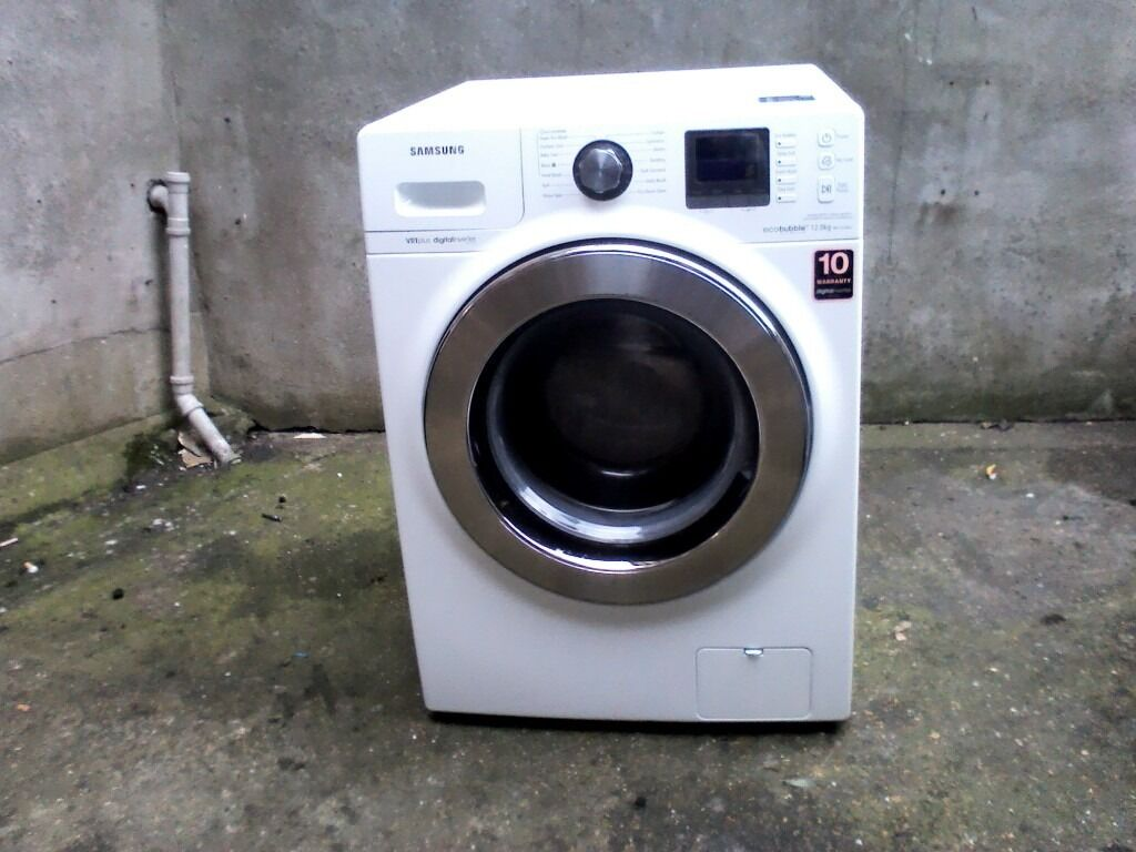 Samsung ecobubble 12kg washing machine , refurbished with warranty 6dd23aeb84e8