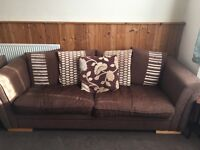 4 seater sofa and chair