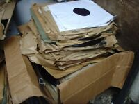 joblot of old 78s and 33 gramaphone records