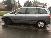 Great car Vauxhall zafira requires back box( £30 eBay ) tyres close to the limit. £400 Ono