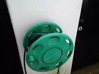 wall mounted garden hose with reel