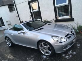 Mercedes SLK- Full years MOT, immaculate condition and low mileage