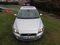 2007 Volvo S40 1.6 D SE 4dr [LEATHER+PARK AID+DVD+CRUISE+SH