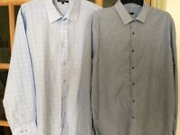 Men's shirts size 17 1/2 inches.