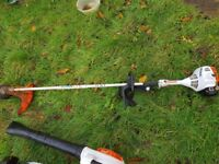 Petrol Gardening equipment